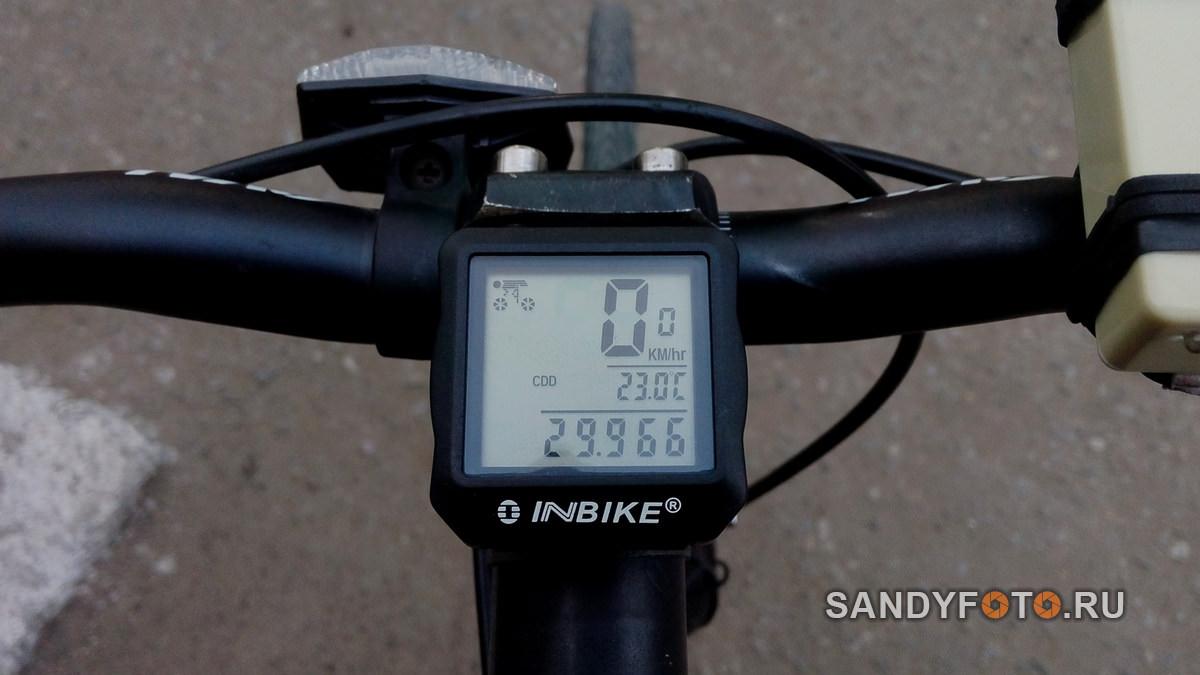 INBIKE IC528 — обзор велокомпьютера с подсветкой + инструкция