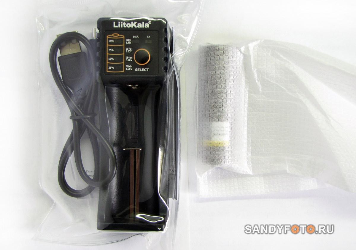 LiitoKala Lii-100B — обзор зарядного устройства и аккумулятора LiitoKala