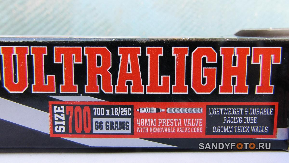 MAXXIS Ultralight 700x18/25 — обзор велокамеры