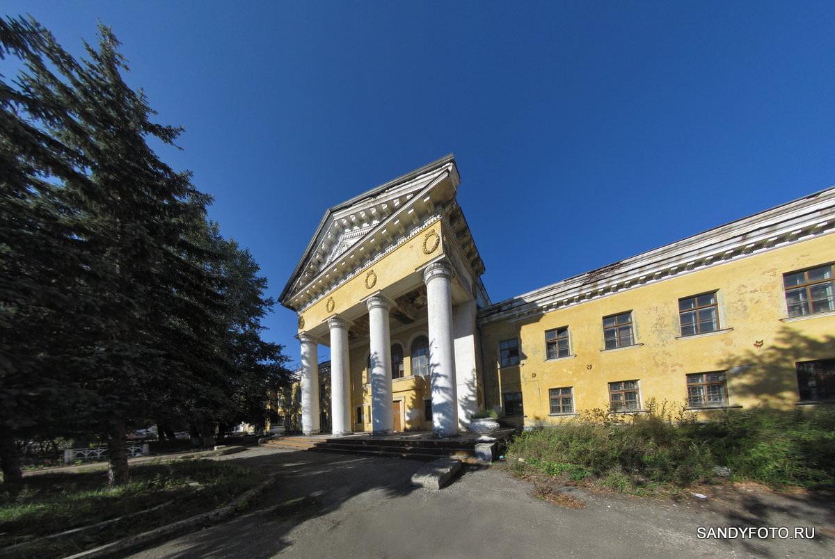 Троицкий Жировой Комбинат, здание клуба, панорама